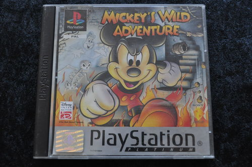 Mickey's wild adventure Platinum Playstation 1 PS1