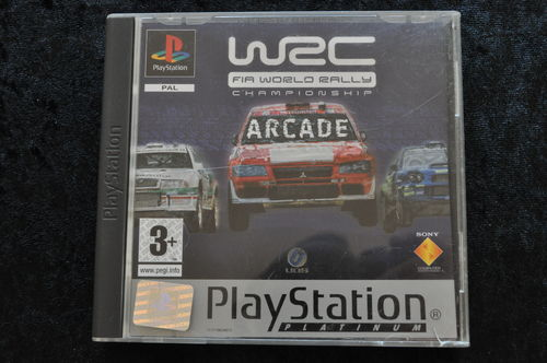 WRC Arcade Playstation 1 PS1 Platinum