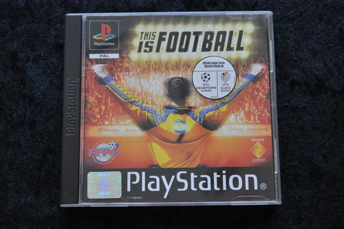 This is football Playstation 1 PS1