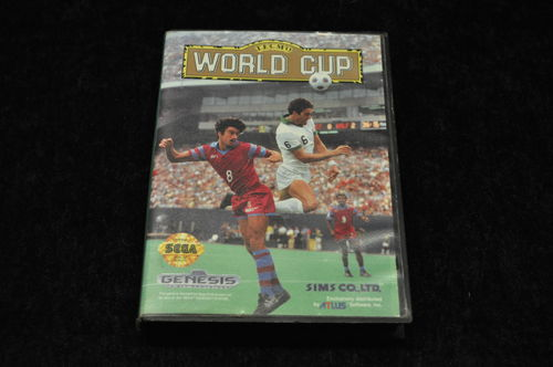 Sega Genesis World Cup Boxed