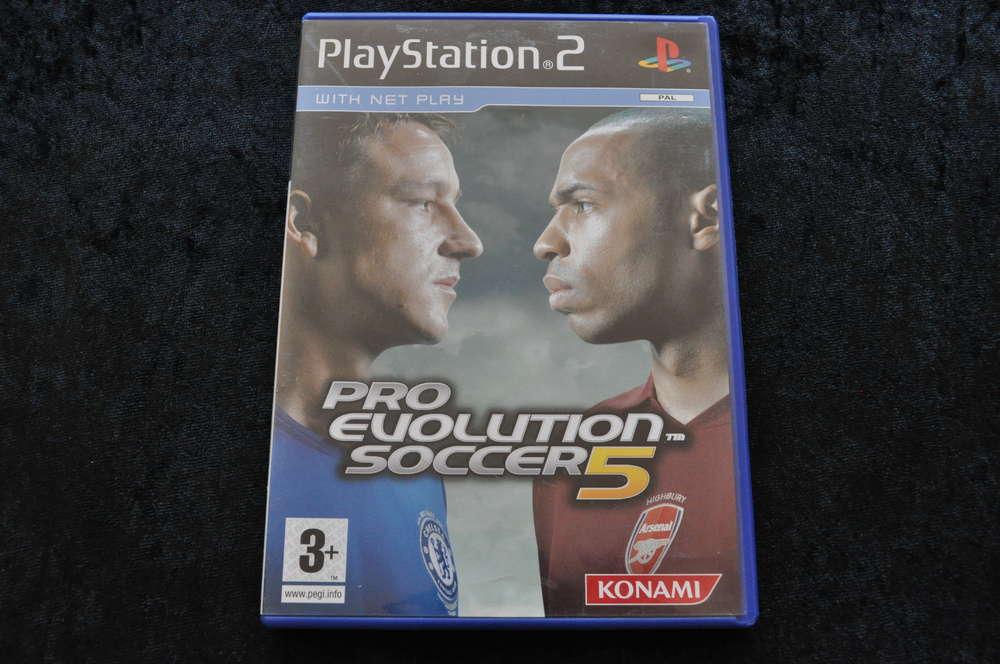 Pro Evolution Soccer 5 Playstation 2 PS2 - Retrogameking com