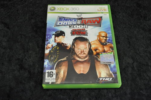 XBOX 360 Smackdown vs raw 2008