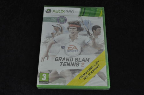 xbox 360 grand slam tennis 2 store game Sealed