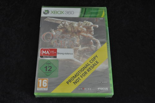 xbox 360 Of orcs men store game Sealed