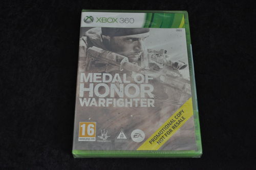xbox 360 Medal of honor warfighter store game Sealed