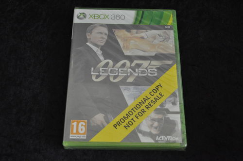 XBOX 360 007 legends store game sealed