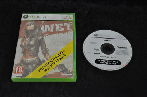 XBOX 360 Wet store game