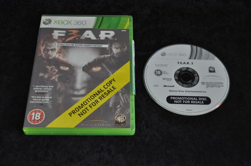 XBOX 360 Fear 3 store game