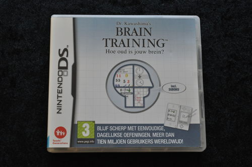 Brain Training  How Old Is Your Brain Nintendo DS