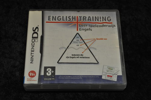 Nintendo DS English Training Leer Spelenderwijs Engels