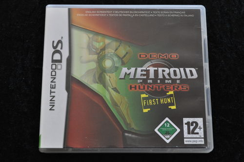 Metroid Prime Hunters First Hunt Nintendo DS Game