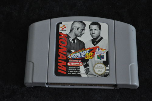 ISS International Superstar soccer 98 Nintendo 64 N64