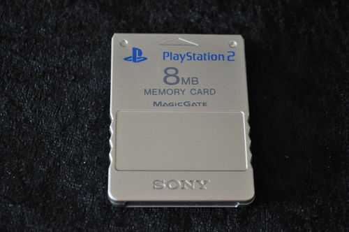 Sony Playstation 2 PS2 Memorycard Origineel 8MB (Zilver)