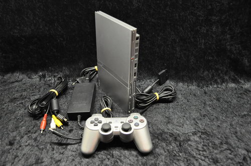 Sony Playstation 2 PS2 Console Slim (Zilver)