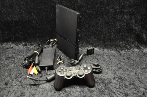 Sony Playstation 2 PS2 Console Slim (Zwart)