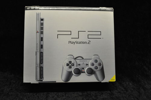 Sony Playstation 2 PS2 Console Slim (Zilver) Boxed