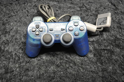 Playstation1 Dualshock Controller Original (Emerald)