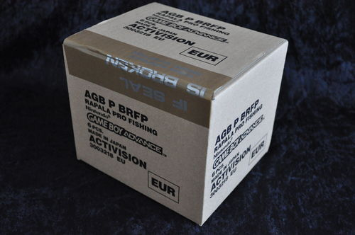 Gameboy Advance Rapala Pro Fishing Factory sealed 6 Games