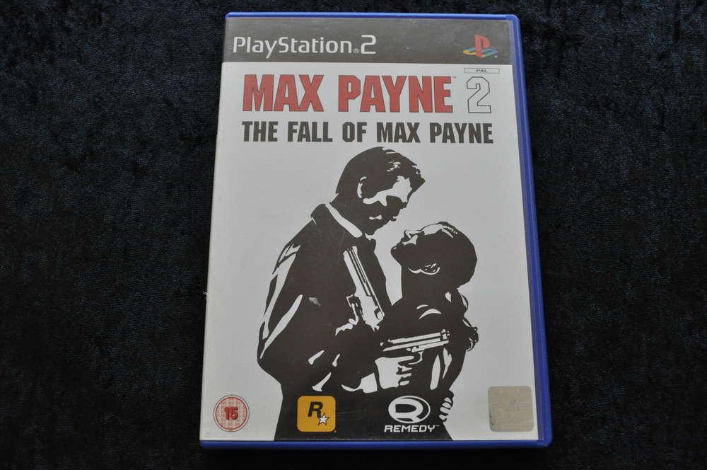 Max Payne 2 The Fall Of Max Payne Playstation 2 Ps2