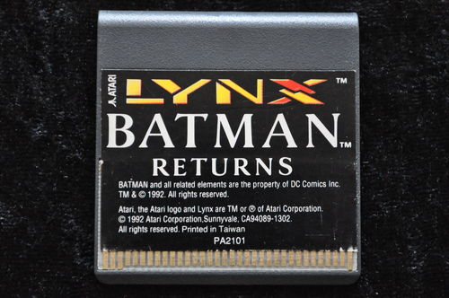Batman returns Atari Lynx