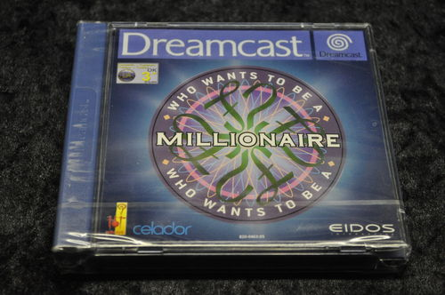 Sega Dreamcast Who wants to be a millionaire (SEALED)