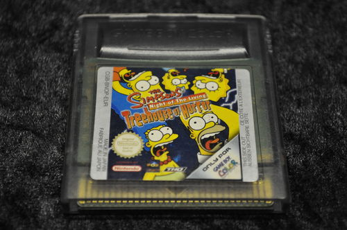 Gameboy Color The Simpsons Night of the living Threehouse of horror