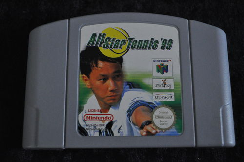 Nintendo 64 Game All Star Tennis 99