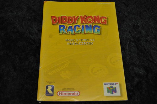Diddy Kong Racing Nintendo 64  N64 Manual