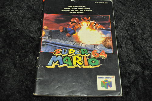 Super Mario 64 Manual Nintendo 64 (N64)