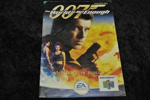 Nintendo 64 (N64) 007 The World Is Not Enough Manual