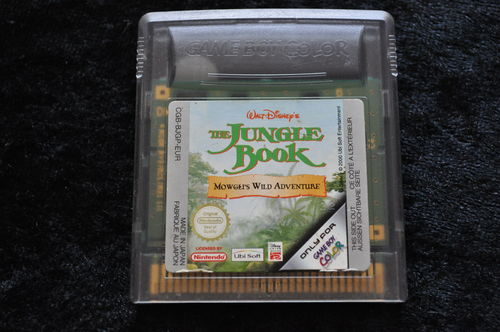 Walt-Disneys Jungle Book Gameboy Color