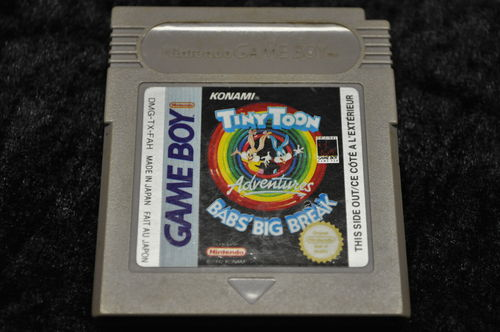Gameboy classic Tiny Toon Babs Big Break