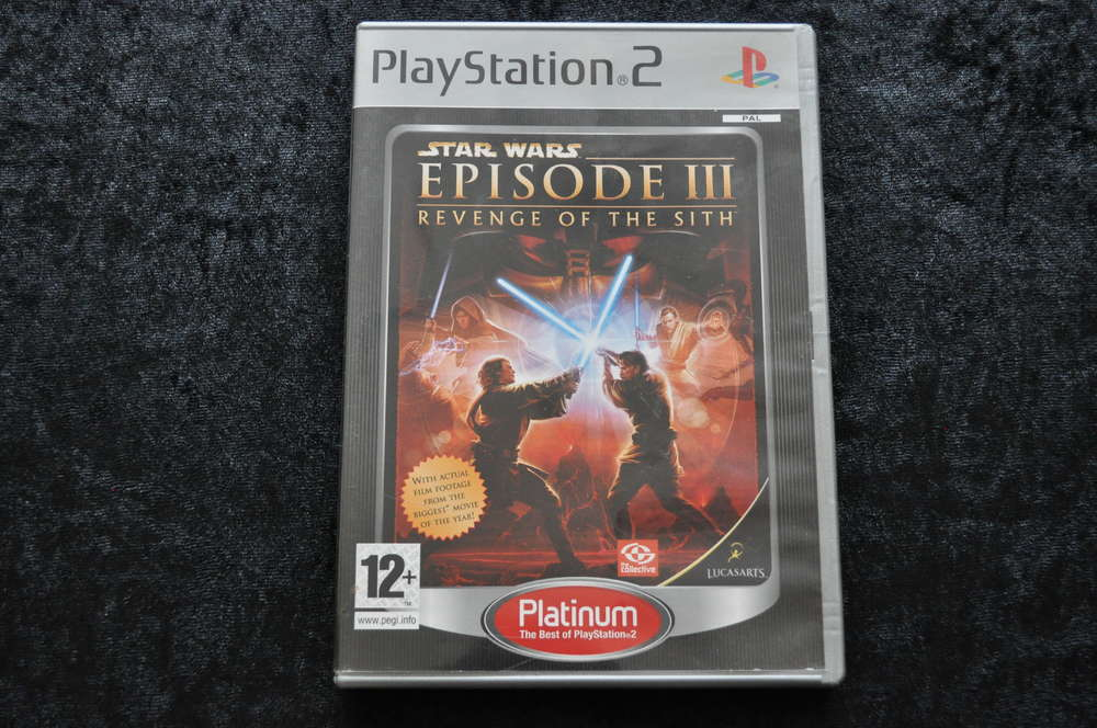 Star Wars Episode 3 Revenge Of The Sith Platinum Playstation 2 Ps2 Retrogameking Com Retro Games Consoles Collectables