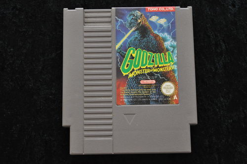 Godzilla Monsters of Monsters Nintendo NES