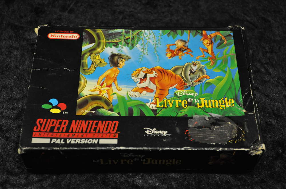 Nintendo Snes Disney Le Livre De La Jungle Boxed