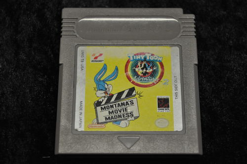 Gameboy classic Tiny Toon Adventures 2 Montana's Movie Madness