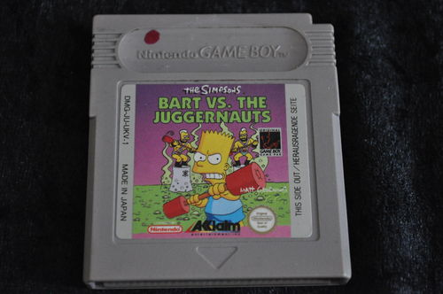 Gameboy classic The Simpsons Bart vs The Juggernauts