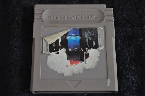 Gameboy classic Stargate Slecht Label