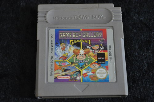 Gameboy classic Gallery 5 Games in 1