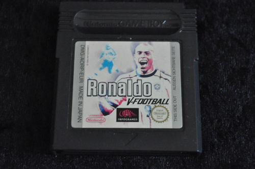 Ronaldo V Football Verkleurd Label Gameboy Color