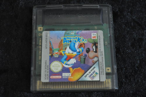 Gameboy Color Donald Duck Quack Attack