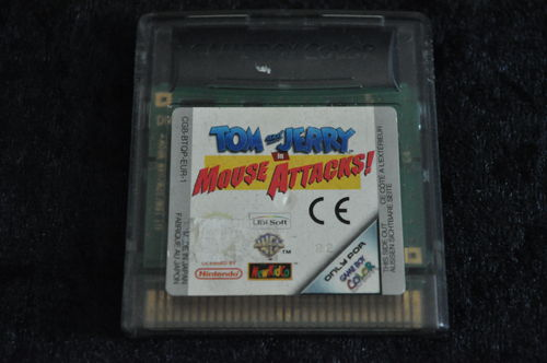 Tom And Jerry In Mouse Attacks Gameboy Color
