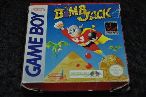 Gameboy classic Bomb Jack Boxed