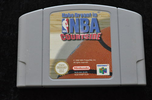 Kobe Bryant In NBA Courtside Nintendo 64 N64