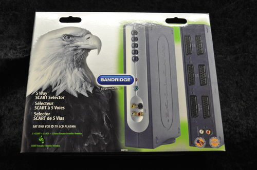 Bandridge 5 Way Scart Selector SVB7725