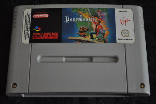 Nintendo SNES The Pagemaster