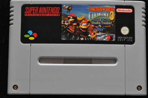 Donkey Kong Country 3 Dixie Kong's Double Trouble! Nintendo SNES