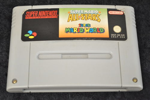 Super Mario World + Super Mario All Stars Nintendo SNES