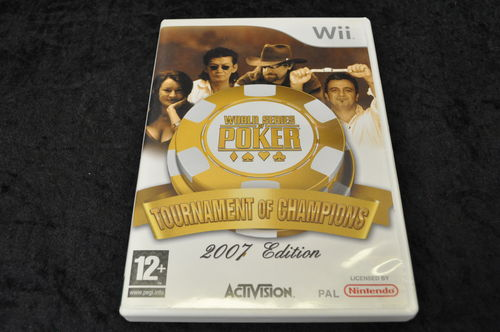 Nintendo wii Game World Series Of Poker:Tournament Of Champions