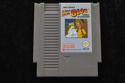 A Boy And His Blob Trouble on Blobolonia Nintendo Nes